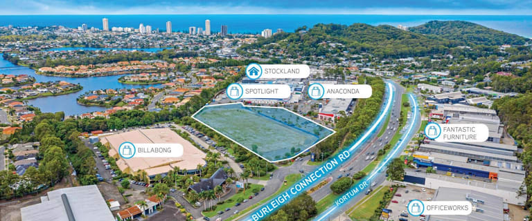 Development / Land commercial property for sale at 197-207 Reedy Creek Road Burleigh Heads QLD 4220