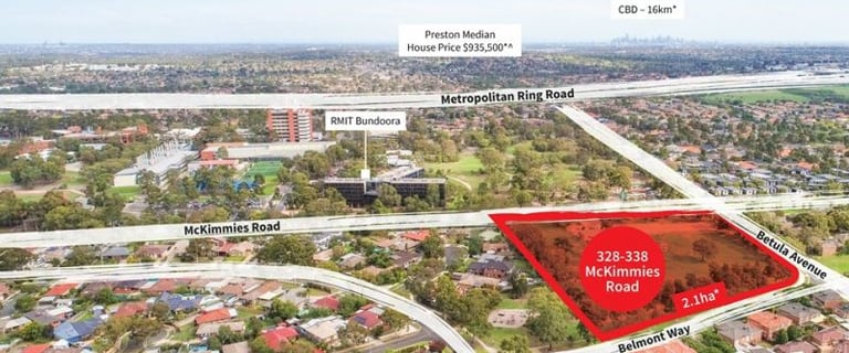 Development / Land commercial property for sale at 328-338 McKimmies Road Mill Park VIC 3082