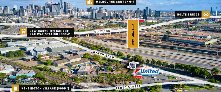 Development / Land commercial property for sale at 146 Dynon Road West Melbourne VIC 3003