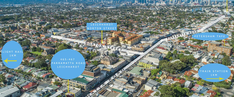 Development / Land commercial property for sale at 465-467 Parramatta Road Leichhardt NSW 2040