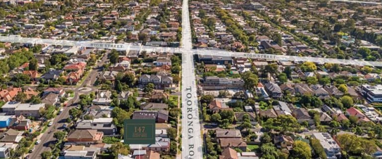 Development / Land commercial property for sale at 147 Tooronga Road Glen Iris VIC 3146