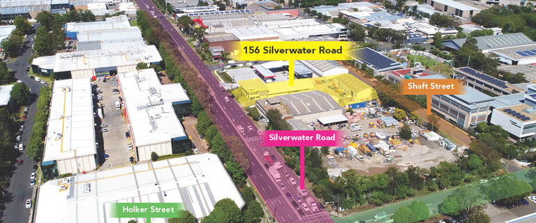Showrooms / Bulky Goods commercial property for sale at 156 Silverwater Road Silverwater NSW 2128