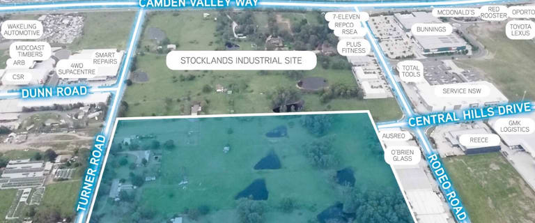 Industrial / Warehouse commercial property for sale at 43-61 Turner Road Gregory Hills NSW 2557