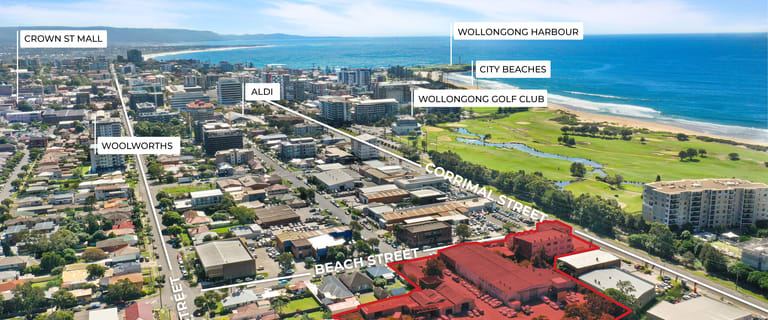 Development / Land commercial property for sale at Cnr Corrimal & Beach Street Wollongong NSW 2500