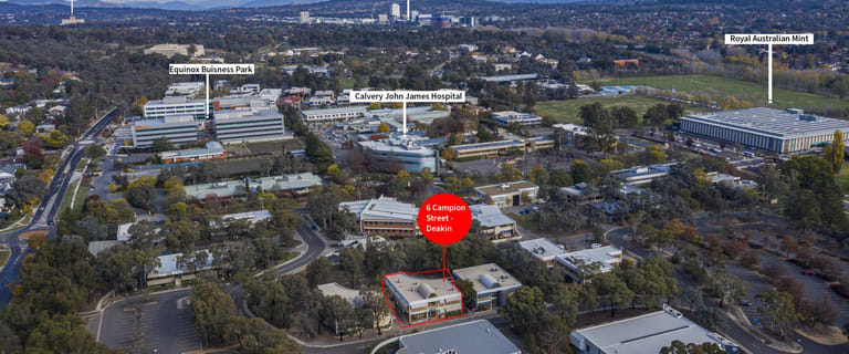 Offices commercial property for sale at 6 Campion Street Deakin ACT 2600