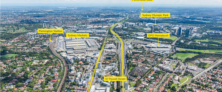 Development / Land commercial property for sale at 37 Powell Street Homebush NSW 2140