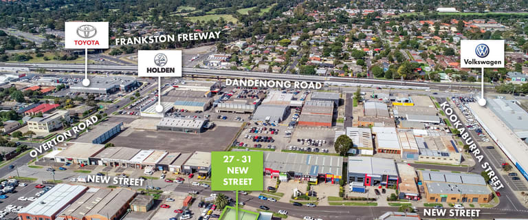 Factory, Warehouse & Industrial commercial property for sale at 27-31 New Street Frankston VIC 3199