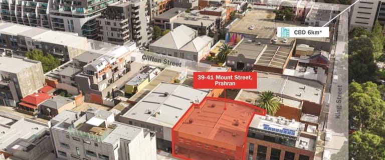 Offices commercial property sold at 39-41 Mount Street Prahran VIC 3181