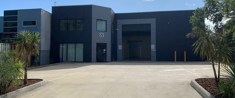 Factory, Warehouse & Industrial commercial property for sale at 22 Lieber Grove Carrum Downs VIC 3201