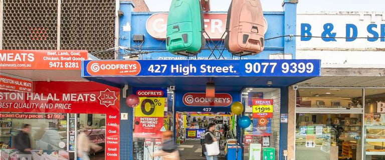 Shop & Retail commercial property for sale at 427 High Street Preston VIC 3072