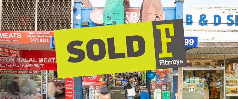 Shop & Retail commercial property sold at 427 High Street Preston VIC 3072
