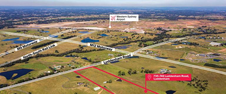 Development / Land commercial property for sale at 735-749 Luddenham Road Luddenham NSW 2745