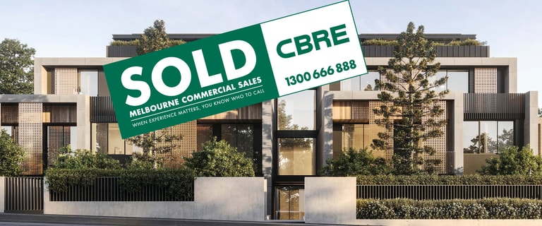 Development / Land commercial property sold at 1542-1544 High Street Glen Iris VIC 3146