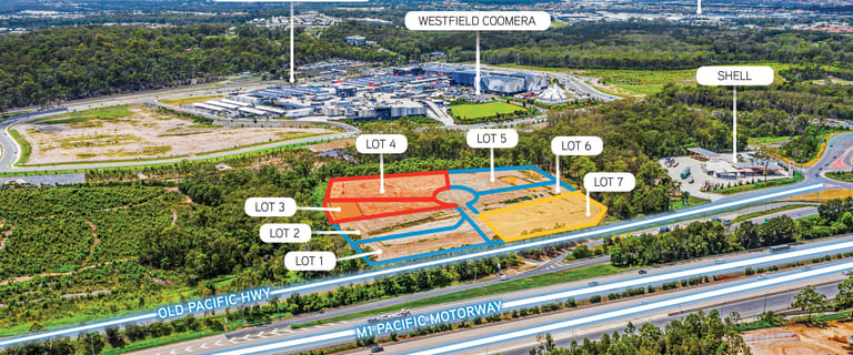 Showrooms / Bulky Goods commercial property for sale at Exit 54 Business Park Coomera QLD 4209