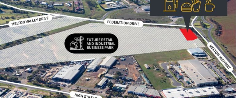 Shop & Retail commercial property for sale at Lot 1, 3-39 Federation Drive Melton VIC 3337