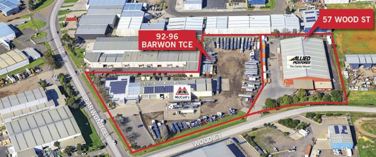 Development / Land commercial property sold at 92-96 Barwon Tce & 57 Wood St South Geelong VIC 3220