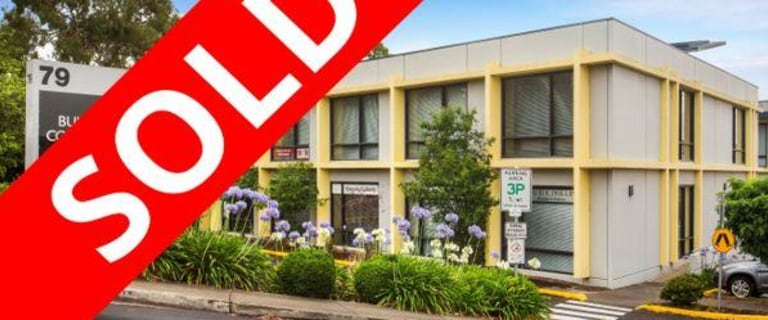 Offices commercial property sold at G2, 79 Manningham Road Bulleen VIC 3105