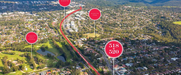 Development / Land commercial property for sale at 518-520 Pacific Highway Mount Colah NSW 2079
