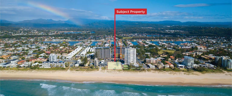 Development / Land commercial property for sale at 332 The Esplanade Palm Beach QLD 4221