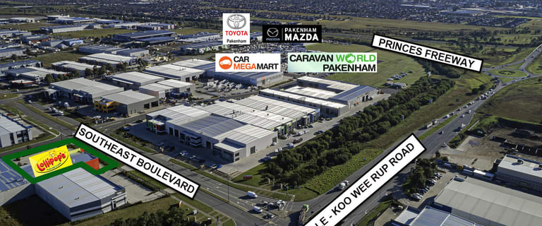 Factory, Warehouse & Industrial commercial property for sale at 1/3 Southeast Boulevard Pakenham VIC 3810