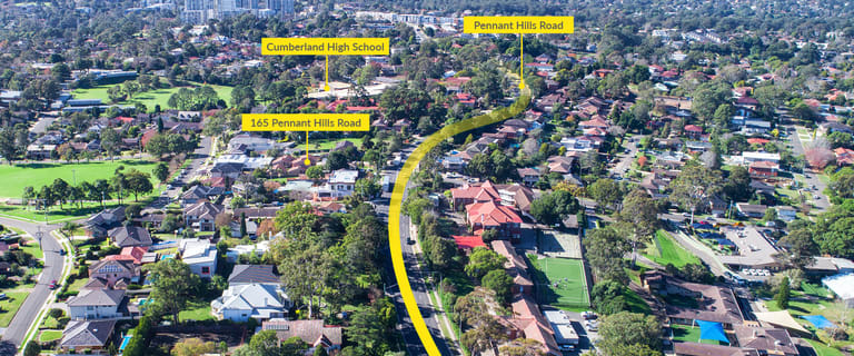 Development / Land commercial property for sale at 165 Pennant Hills Road Carlingford NSW 2118