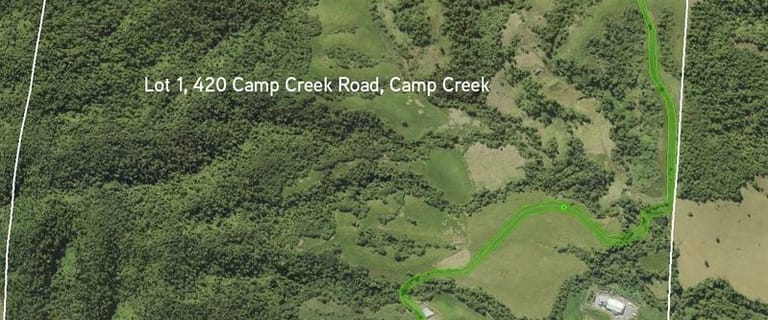 Rural / Farming commercial property for sale at 420 Camp Creek Road Camp Creek QLD 4871