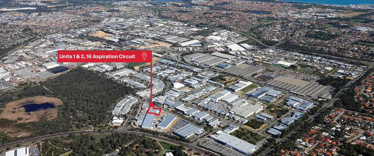 Factory, Warehouse & Industrial commercial property for sale at 1 & 2/16 Aspiration Circuit Bibra Lake WA 6163