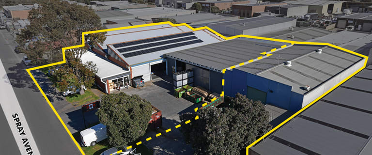 Factory, Warehouse & Industrial commercial property for sale at 14 & 16-20 Spray Avenue Mordialloc VIC 3195