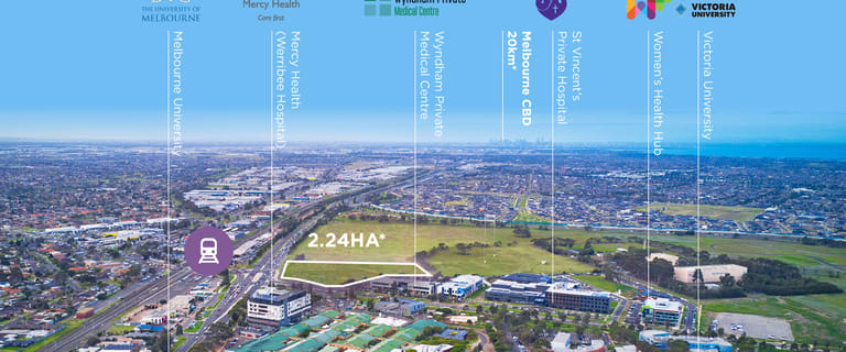 Development / Land commercial property for sale at 246 Hoppers Lane Werribee VIC 3030