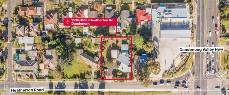 Medical / Consulting commercial property for sale at 1536-1538 Heatherton Road Dandenong VIC 3175