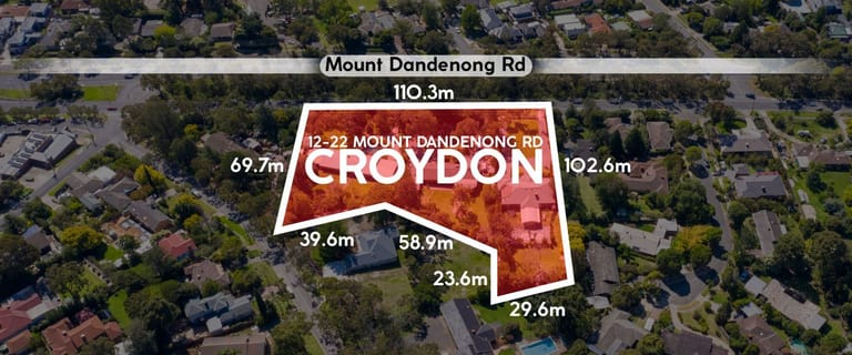 Medical / Consulting commercial property for sale at 12 - 22 Mount Dandenong Road Croydon VIC 3136