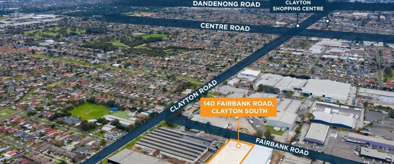 Factory, Warehouse & Industrial commercial property for sale at 1-24/140 Fairbank Road Clayton South VIC 3169