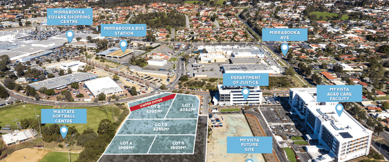 Development / Land commercial property for sale at 15 Milldale Way Mirrabooka WA 6061
