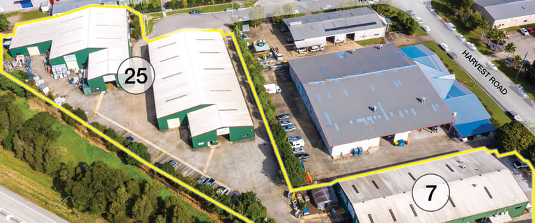Factory, Warehouse & Industrial commercial property for sale at 7 Harvest Road & 25 Machinery Road Yandina QLD 4561