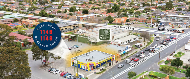 Shop & Retail commercial property for sale at 1146-1148 North Road Oakleigh South VIC 3167
