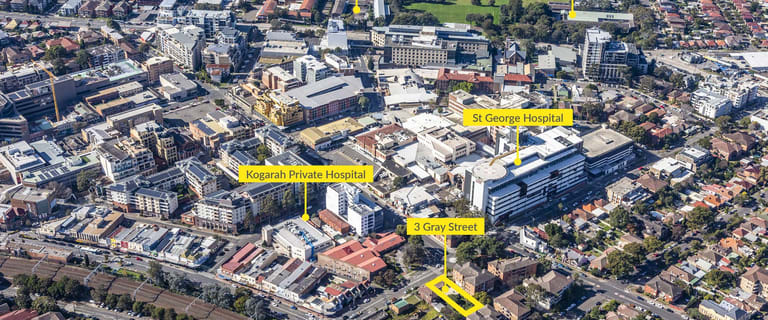 Development / Land commercial property for sale at 3 Gray Street Kogarah NSW 2217