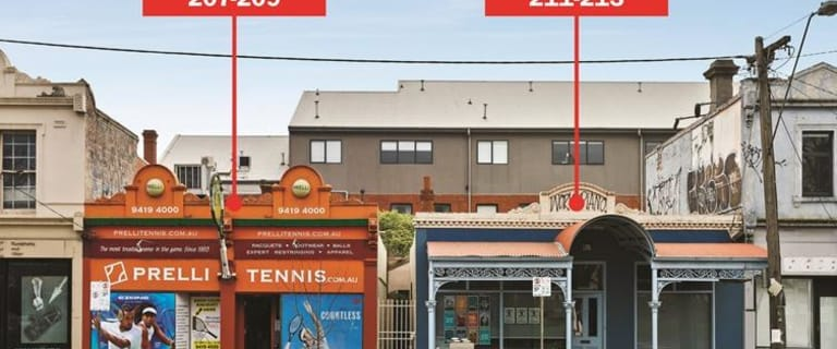 Shop & Retail commercial property for sale at 207-209 & 211-213 Victoria Parade Collingwood VIC 3066