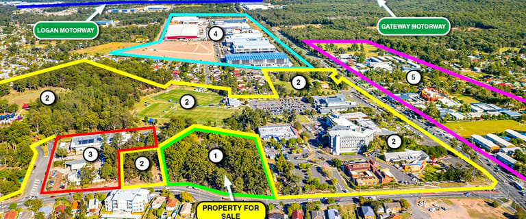 Development / Land commercial property for sale at 27 Jacaranda Avenue Logan Central QLD 4114