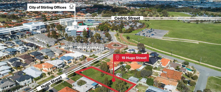 Development / Land commercial property for sale at 19 Hugo Street Stirling WA 6021