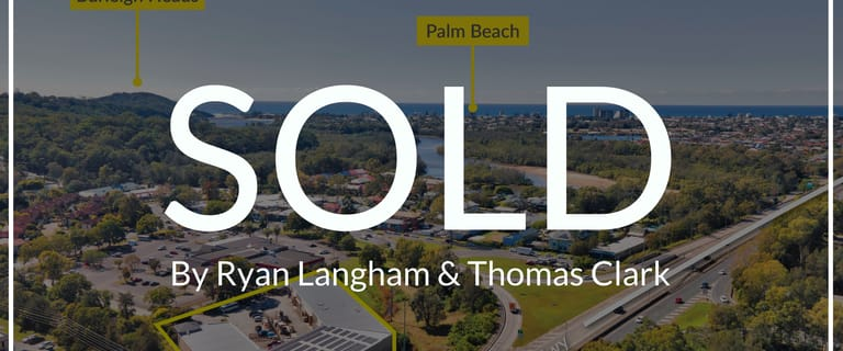 Factory, Warehouse & Industrial commercial property sold at 12 Township Drive Burleigh Heads QLD 4220