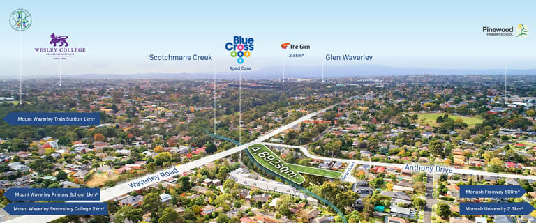 Development / Land commercial property for sale at 452-454 Waverley Road Mount Waverley VIC 3149