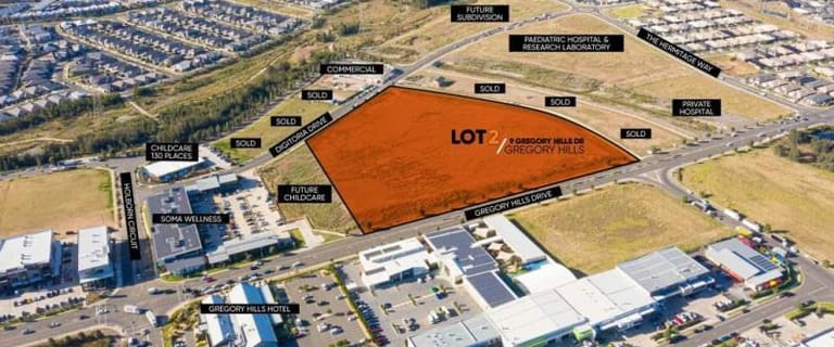 Development / Land commercial property for sale at Lot 2/9 Gregory Hills Drive Gregory Hills NSW 2557