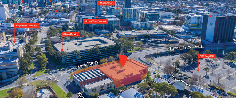 Development / Land commercial property for sale at 52 Lord Street East Perth WA 6004