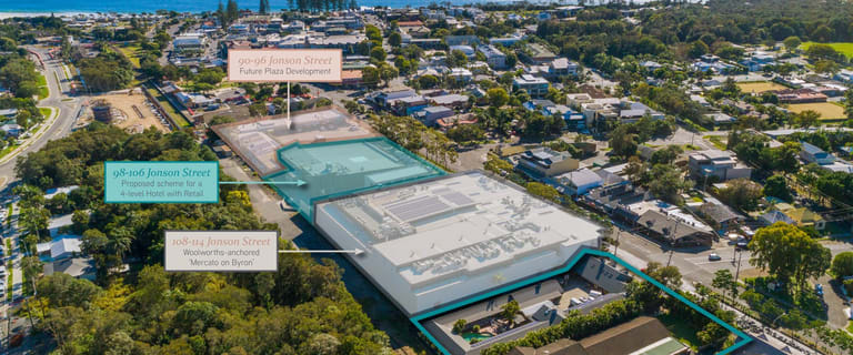 Development / Land commercial property for sale at 116 - 118 Jonson Street Byron Bay NSW 2481