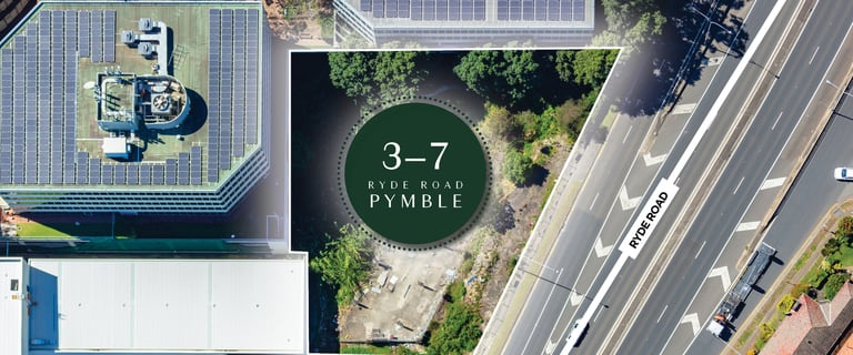 Development / Land commercial property for sale at 3-7 Ryde Road Pymble NSW 2073