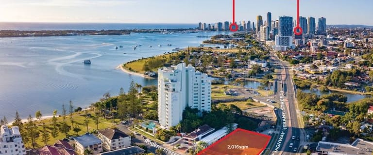 Hotel, Motel, Pub & Leisure commercial property for sale at 15-21 & 10 Frank Street & Robert Street Labrador QLD 4215