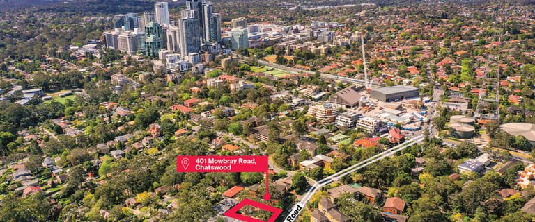 Development / Land commercial property for sale at 401 Mowbray Road Chatswood NSW 2067