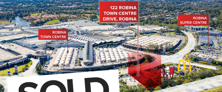 Shop & Retail commercial property sold at 122-124 Robina Town Centre Drive Robina QLD 4226