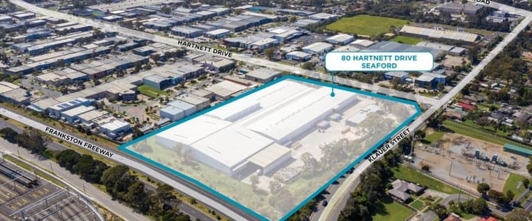 Factory, Warehouse & Industrial commercial property for sale at 80 Hartnett Drive Seaford VIC 3198