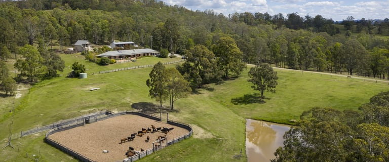 Rural / Farming commercial property for sale at 815 Glen William Road Glen William NSW 2321
